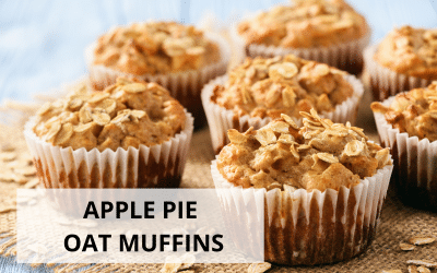 Apple Pie Oat Muffins